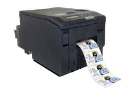DTM CX86E Colour Label, Tag, Ticket, Printer  + Rotary Cut Off + 3 years warranty