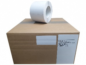102 x 52 (4 x 2) AJetF gloss ink label rolls 3 inch cores case of 11200 labels