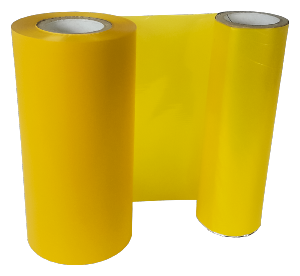 YELLOW COLOUR RIBBON 110mm X 200M