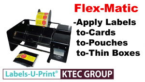 FLex-Matic Pouch, Envelope, Bag, Sleeve Labeller up to 4mm thick