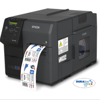 "Epson ColorWorks C7500  - 4"" Durable Colour Label Printer + 3 years free warranty"
