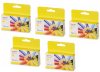5 Pack Yellow Pigment Ink Cartridge (34ml) for the Primera LX1000e & LX2000e printer