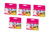 5 Pack Magenta Pigment Ink Cartridge (34ml) for the Primera LX1000e & LX2000e printer