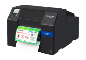 "Epson ColorWorks C6500Pe - 8"" Durable Colour Label Printer + Peel + 3 years free warranty"