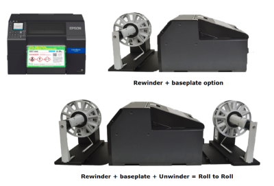 "Epson ColorWorks C6500Ae - 8"" Durable Colour Label Printer + Guillotine + 3 years free warranty"
