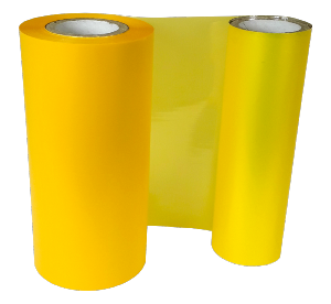 PROCESS YELLOW COLOUR RIBBON 110mm X 200M