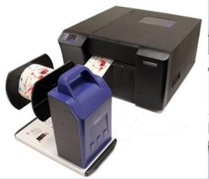 REWinder up to 7 inch  177mm wide suited to ink jet and thermal roll printers