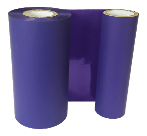 PURPLE COLOUR RIBBON 110mm X 200M