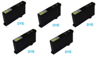 5 Pack Yellow Dye Ink Cartridge (10.4ml) for the Primera LX900e / RX900e printer