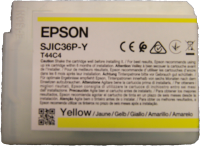 Yellow ink  (80ml) for Epson C6000 /C6500 printers