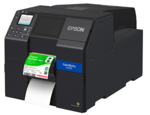"Epson ColorWorks C6000Pe - 4"" Durable Colour Label Printer + Peel + 3 years free warranty"