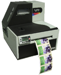 VP700  Premium Deal -Colour Label Printer + inks + head + free training + free Bartender