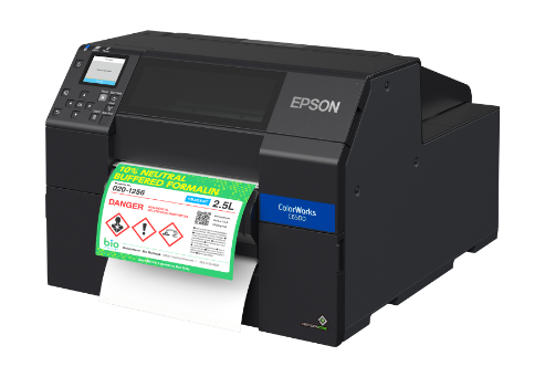 "Epson ColorWorks C6500Pe - 8"" Durable Colour Label Printer + Peel + free warranty and training"