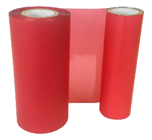 SCARLET POT COLOUR RIBBON 110mm X 200M