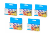 5 Pack Cyan Pigment Ink Cartridge (34ml) for the Primera LX1000e & LX2000e printer