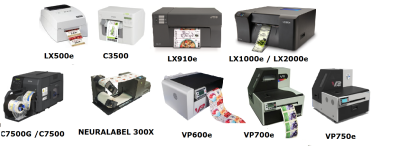 Stocked label rolls or Ink Jet Colour Printers - Same day dispatch