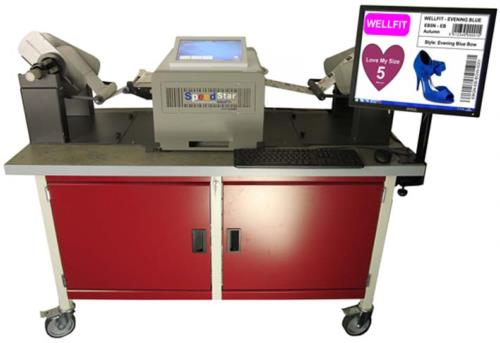 Our Workbench suits any colour printer + Unwinder + Rewinder