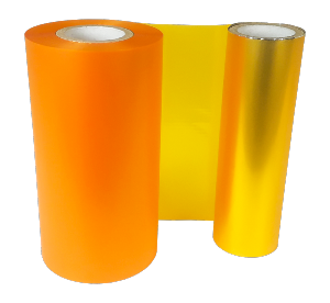 SUNFLOWER YELLOW SPOT COLOUR RIBBON 110mm X 200M