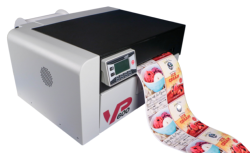 VP600 label printer included unwinder