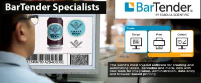 BarTender PROFESSIONAL  Software designer with 5 printer licenses